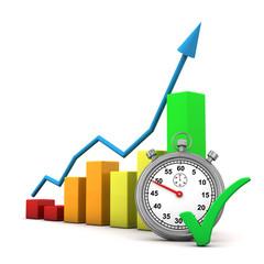 Chart Stopwatch Tick