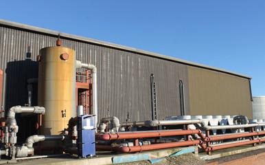 Industrial building exterior