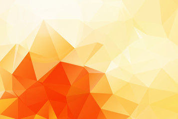 bright yellow Geometric background vector eps 10