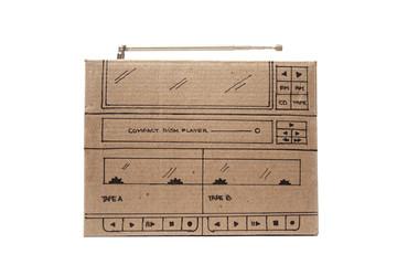 Cardboard stereo