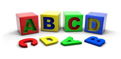 ABC - colour alphabet