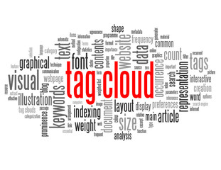 """TAG CLOUD"" Tag Cloud (keywords search tags document website)"