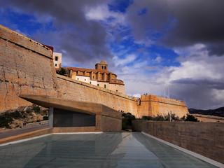 Ibiza Town Walls, Balearic Islands, Spain
