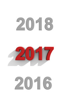 2017 New Year date sequence
