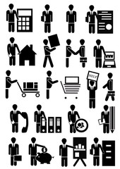 vector people group business