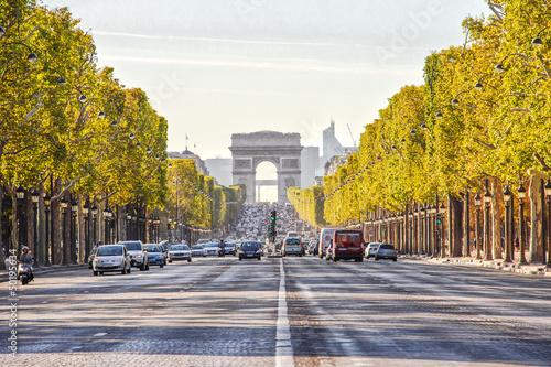 Елисейские Поля Париж центр магистраль без смс