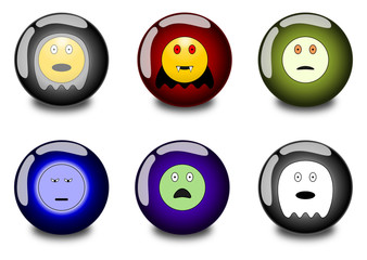 Smileys in orb - Haloween 1.01