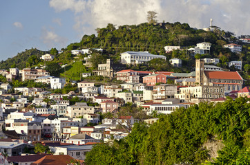 St. George´s; Blick auf die Stadt