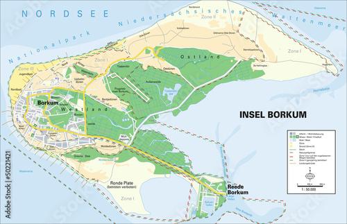 Borkum Karte Strassen.Insel Borkum Stockfotos Und Lizenzfreie Vektoren Auf