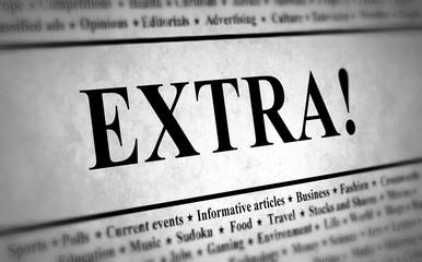Newspaper Extra
