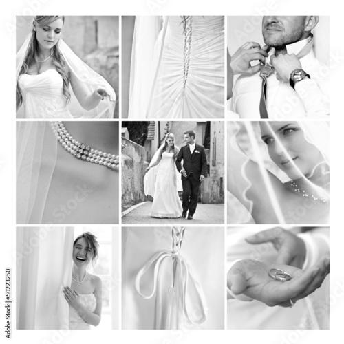 Collage Hochzeit Stockfotos Und Lizenzfreie Bilder Auf Fotolia Com