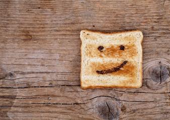 Gefühle auf Toast