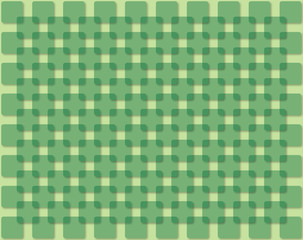 abstract background with green squares
