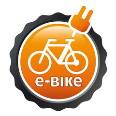 Orange Button e-bike