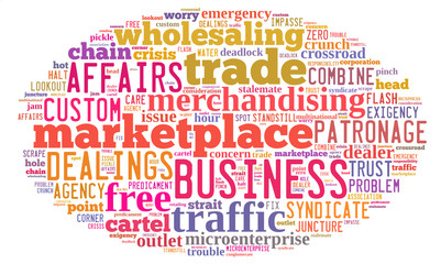 business tag cloud concepts