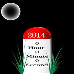 Happy New Year 2014 Milestone