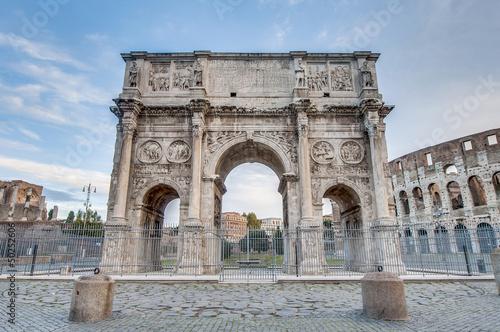 Триумфальная арка Константина Колизей Рим загрузить