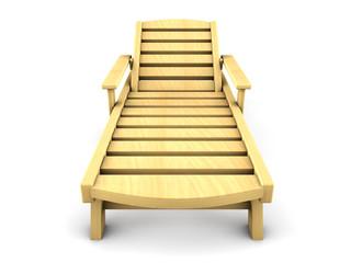 3d wood beach chairs