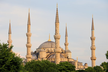 Sultan Ahmet Mosque in Istanbul