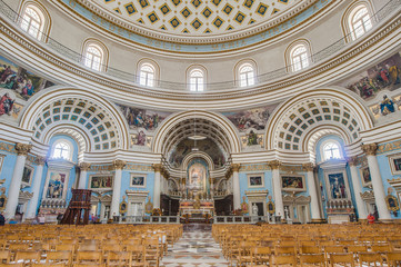 Church Rotunda of Mosta, Malta