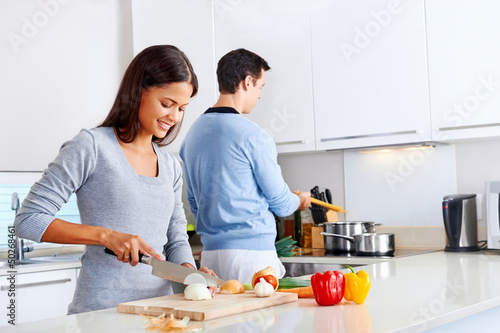 powerful worker is banging the lady in the kitchen  146024