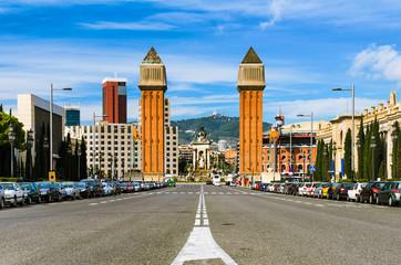The Venetian Towers at the Espanya Square, Barcelona