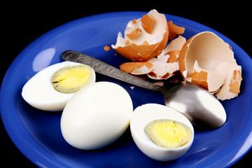 boiled eggs.