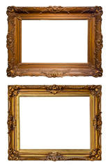 Old decorated art frames