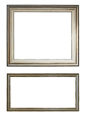 Isolated picture or painting frame
