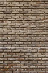Fund damaged brick wall