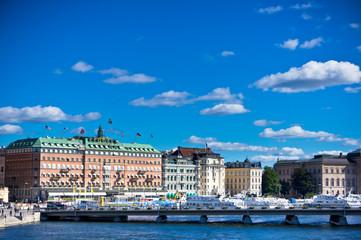 A view of Stockholm City Centre