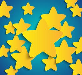 Paper star background