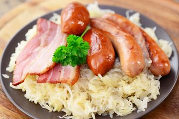 Speck, Sauerkraut