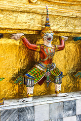 Tempel Figur