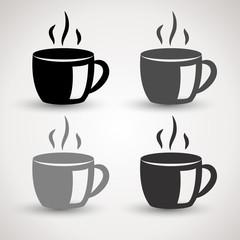 grey coffee cups