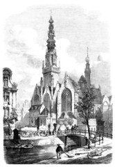 City View 19th century - Old Church (Amsterdam)