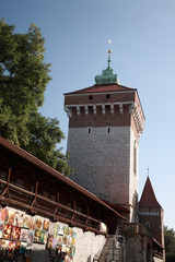Florian Gate, Krakow