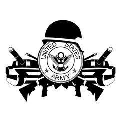 The icon of the U.S. Army