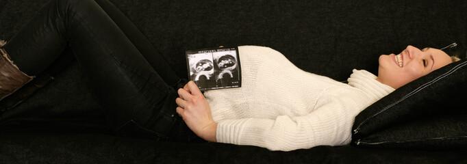 junge Schwangere