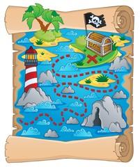 Treasure map theme image 5