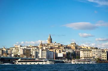Beautiful view of Istanbul City, Turkey
