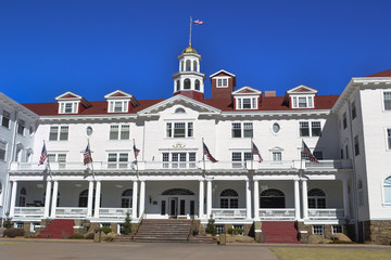 Stanley Hotel Historic Landmark Estes Colorafo