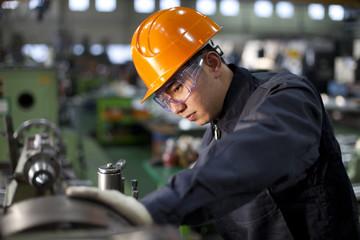 Technician at work