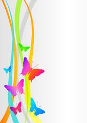 Schmetterlinge - Background - 6