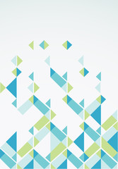 Abstract retro-style background. Vector