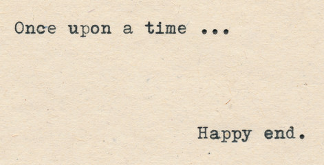 Once upon a time and Happy end