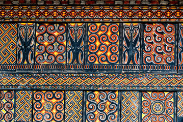 traditional designs in Tana Toraja region