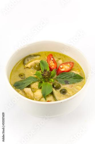 """Green curry soup"""" Fotos de archivo e imágenes libres de derechos en ..."""