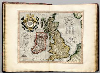 Britain vintage map