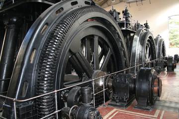 Maquinaria  de Motores Metro Fototapete